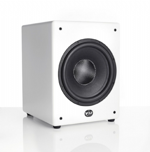 MK V12 Active Subwoofer – White
